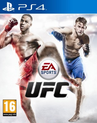 EA Sports UFC PS4 Cover