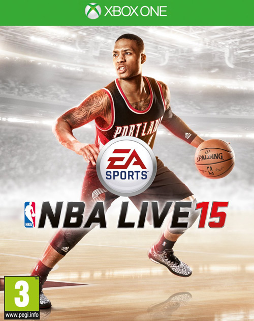 NBA Live 15 XBOX One Cover