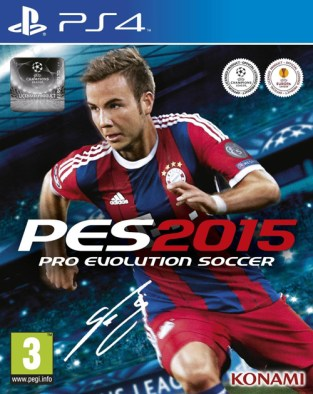 Pro Evolution Soccer 2015 PS4 Cover