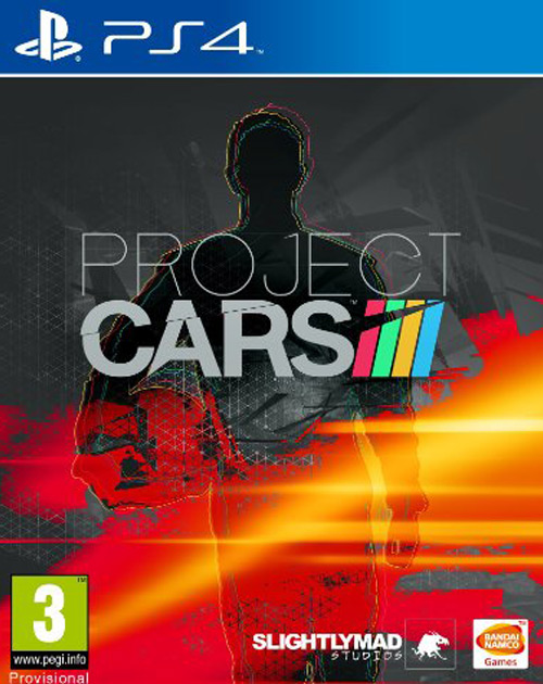 Project Cars PS4 Cover