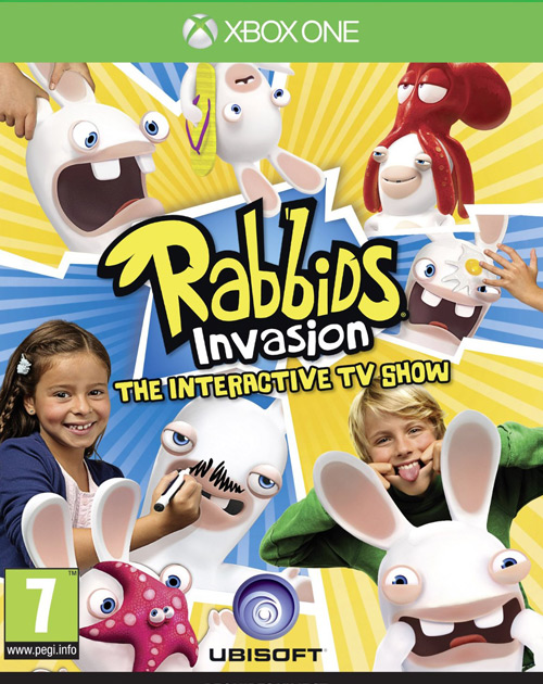 Rabbids Invasion: The Interactive TV Show XBOX One Cover