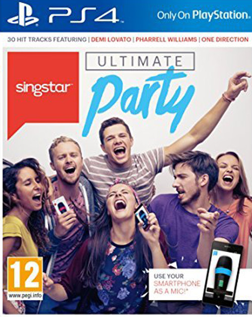 Singstar Ultimate Party PS4 Cover