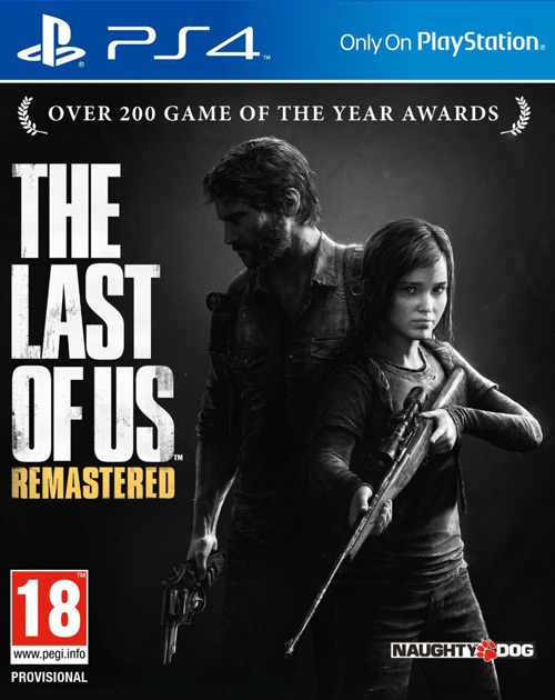 The Last of Us: Remastered PS4 Cover