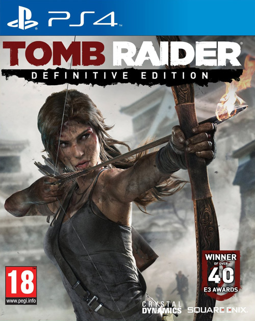 Tomb Raider: Definitive Edition PS4 Cover