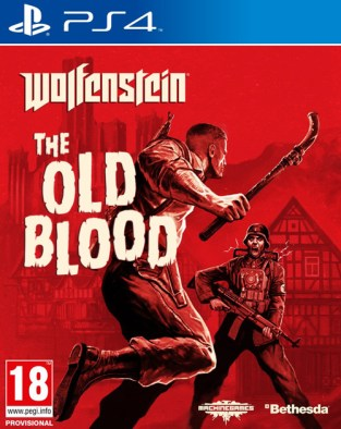 Wolfenstein: The Old Blood PS4 Cover