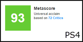 Witcher 3 PS4 Metascore