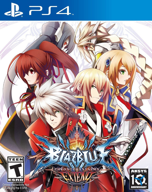 BlazBlue: Chrono Phantasma Extend PS4 Cover