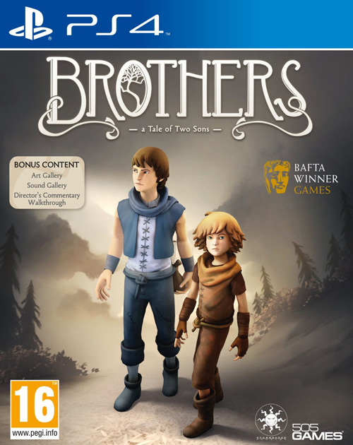 Brothers: A Tale of Two Sons PS4 Cover
