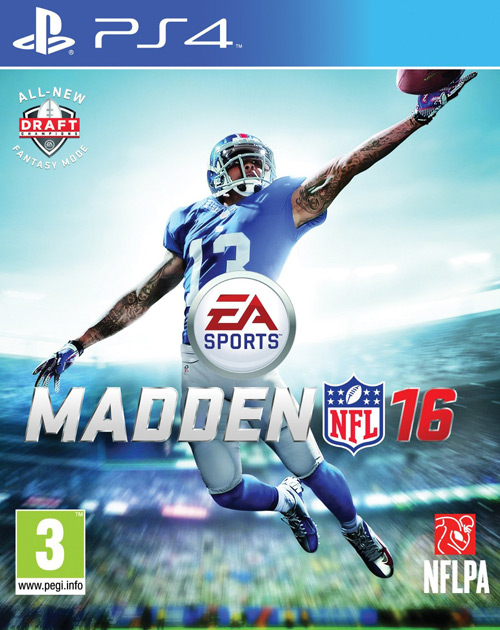 Madden NFL 16 PS4 Cover