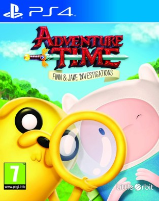 Adventure Time: Finn and Jake Investigations PS4 Cover