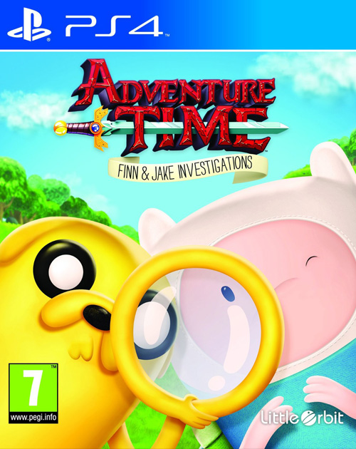 Kết quả hình ảnh cho Adventure Time Finn and Jake Investigations cover ps4