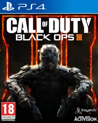 Call of Duty: Black Ops III PS4 Cover
