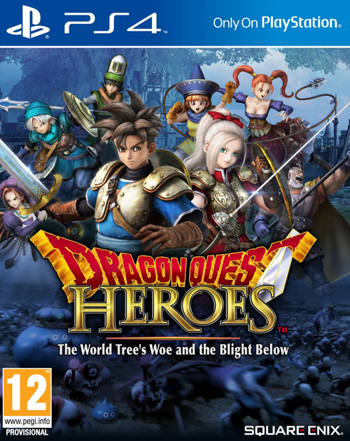 Dragon Quest Heroes: The World Tree's Woe and the Blight Below PS4 Cover