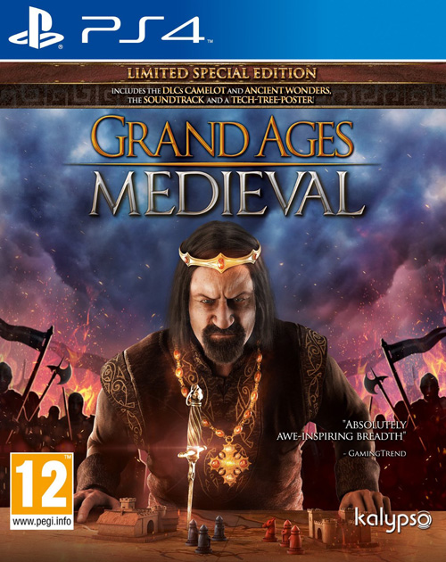 Grand Ages: Medieval PS4 Cover