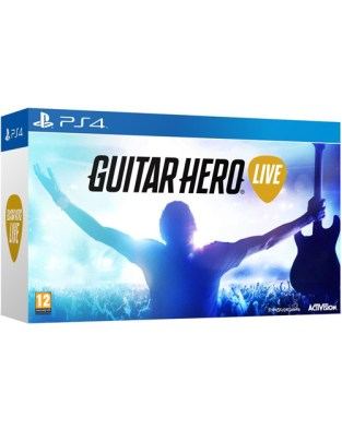 Guitar Hero Live (with Guitar) PS4 Cover