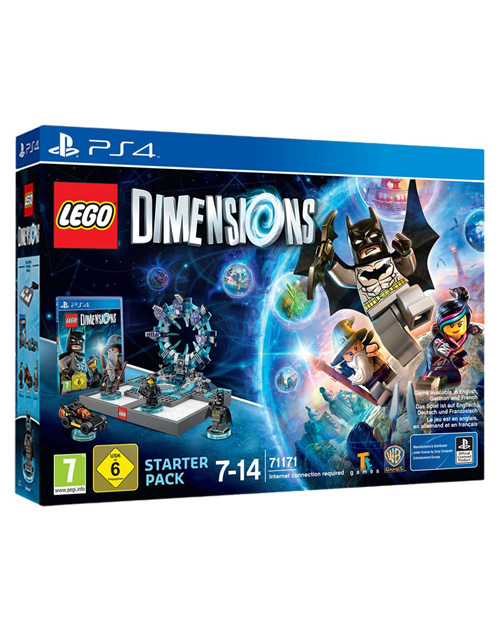 LEGO Dimensions Starter Pack PS4 Cover