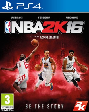 NBA 2K16 PS4 Cover