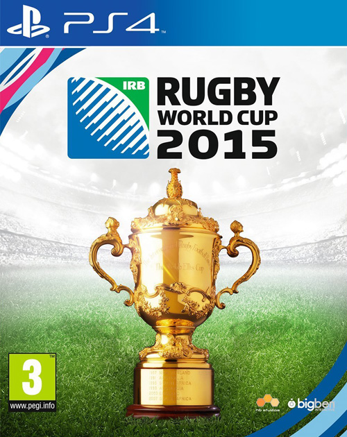 Rugby World Cup 2015 PS4 Cover