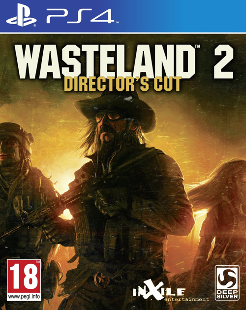 Wasteland 2: Director's Cut PS4 Cover