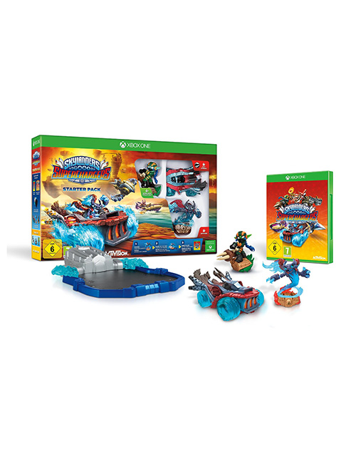 Skylanders SuperChargers XBOX One Cover