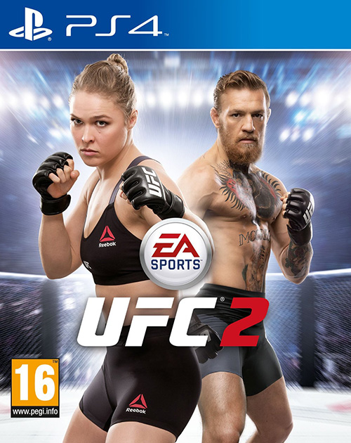 EA Sports UFC 2 PS4 Cover