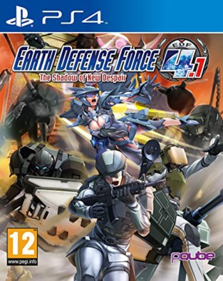 Earth Defense Force 4.1: The Shadow of New Despair PS4 Cover