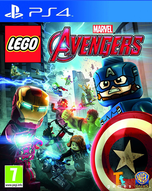 LEGO Marvel's Avengers PS4 Cover