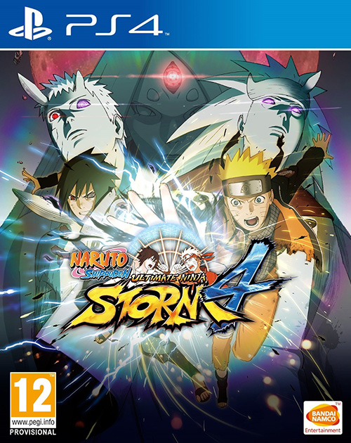 Naruto Shippuden: Ultimate Ninja Storm 4 PS4 Cover