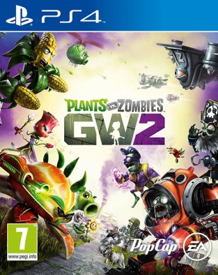 Plants vs. Zombies Garden Warfare 2 PS4 Cover