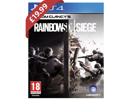 Rainbow Six Siege (PS4) - £19.99 @ Argos