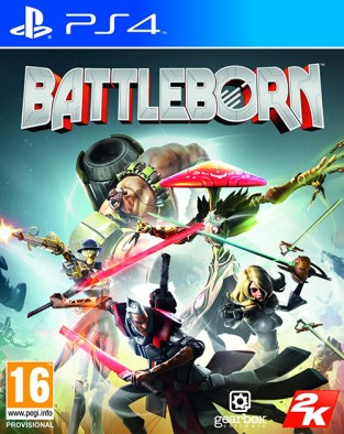 Battleborn PS4 Cover