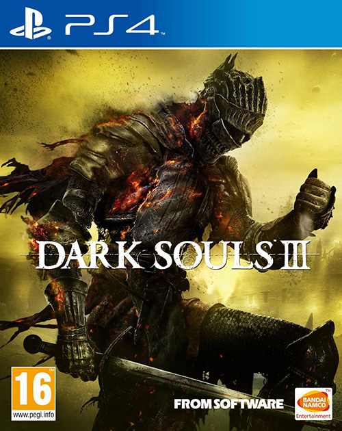 Dark Souls III PS4 Cover
