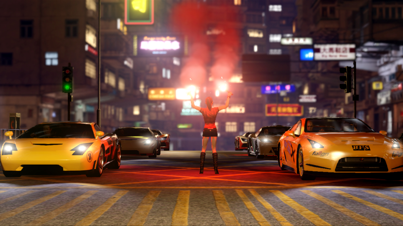 Ikea Corse New Sleeping Dogs Screenshots Show Cars Bikes And Explosion