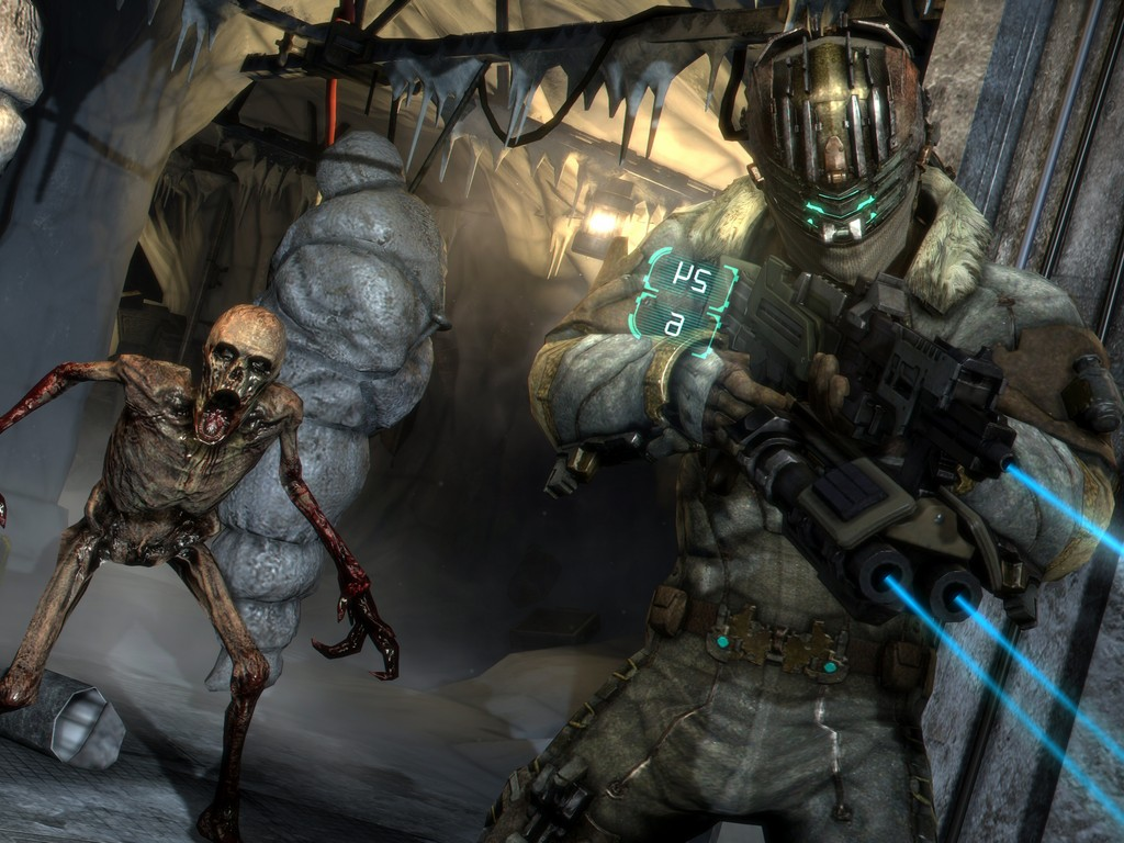 Combat Pc Nine New Dead Space 3 Screenshots Are Scary