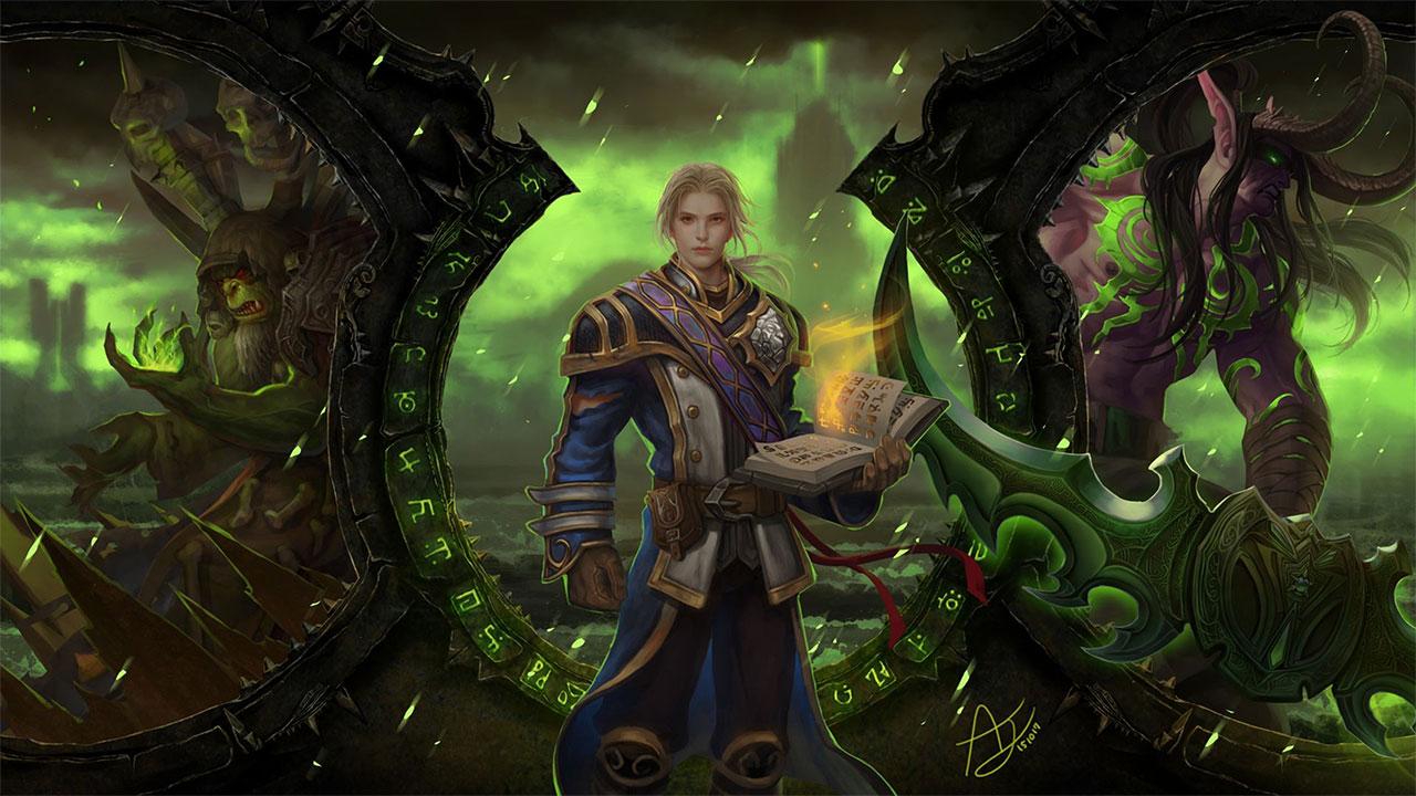 Iphone Broken Screen Wallpaper Hd World Of Warcraft Legion Wallpapers In Ultra Hd 4k