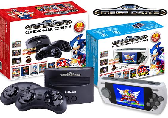 Sega Reveals Mega Drive Plug-and-Play Console