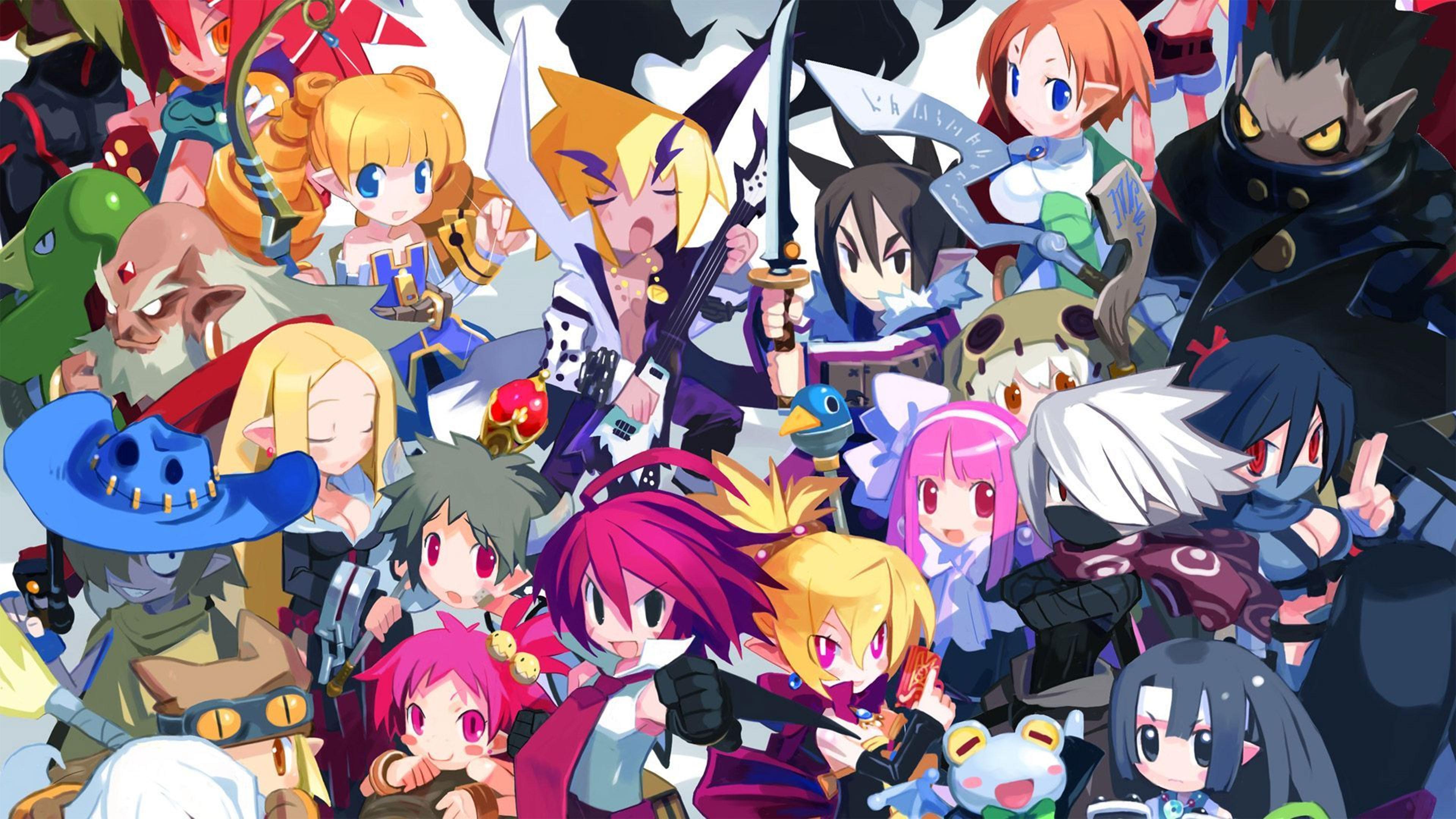 Lewd Anime Girls Wallpaper Disgaea 2 Wallpapers In Ultra Hd 4k