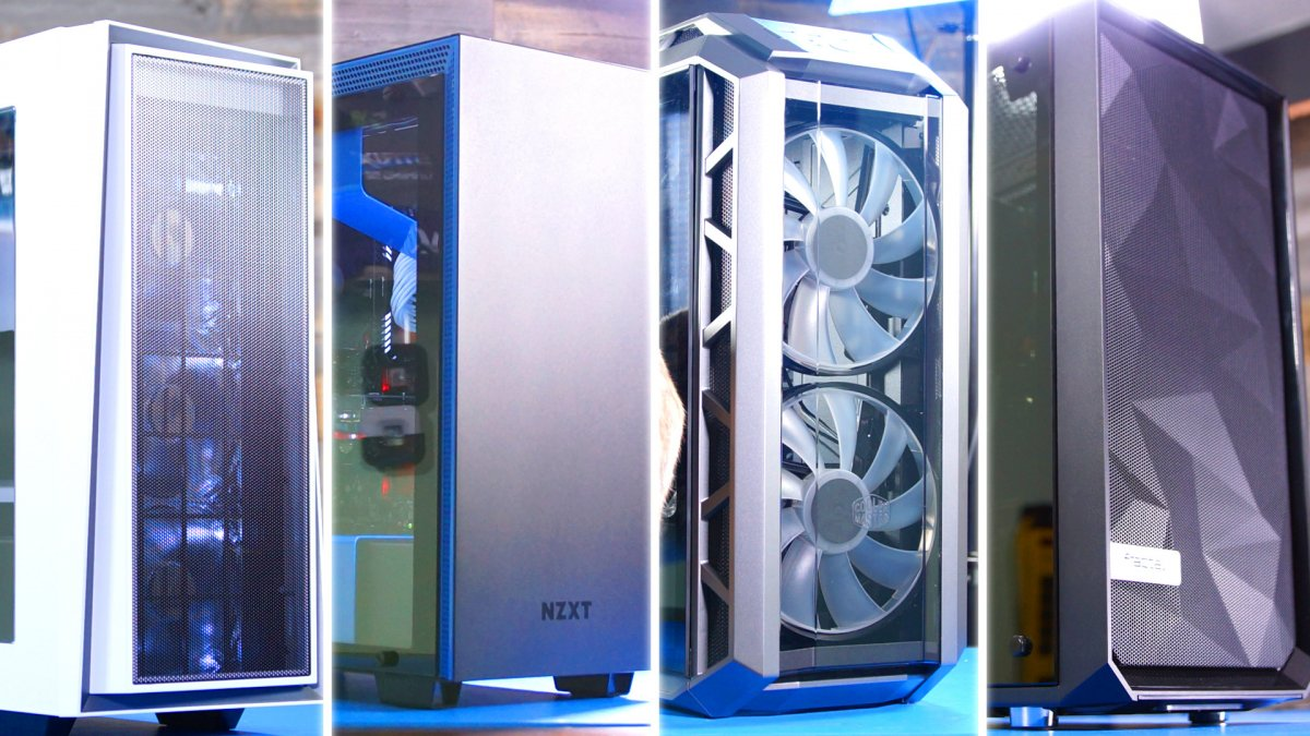 Case Pc The Best Pc Cases Of 2017 Awards For Airflow Noise Design