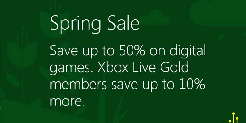 List Of Xbox Spring Sales Discounts, Offers And Deals