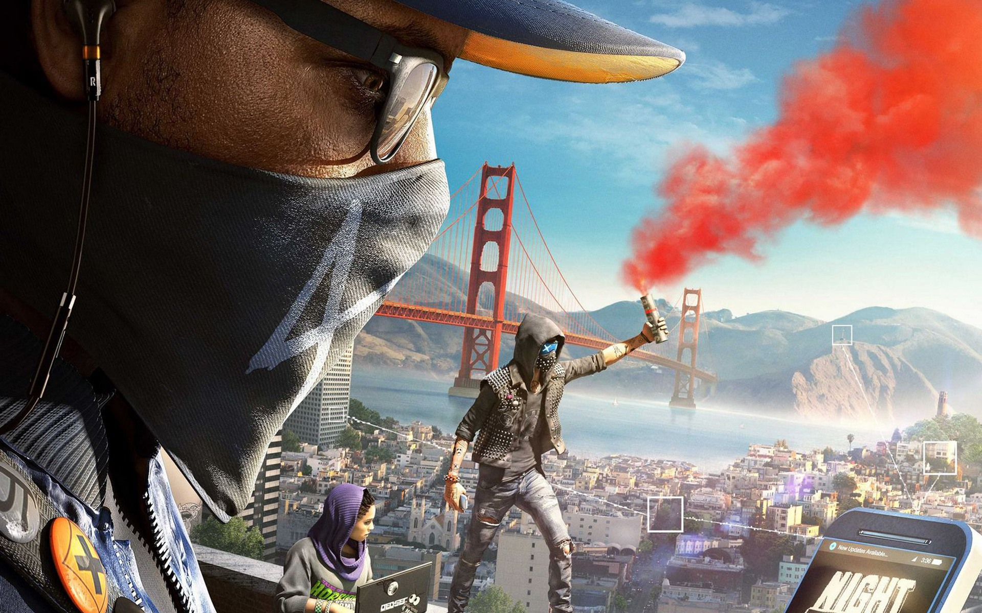 3d World Map Wallpaper For Pc Watch Dogs 2 Released For Pc Gamer Walkthroughs