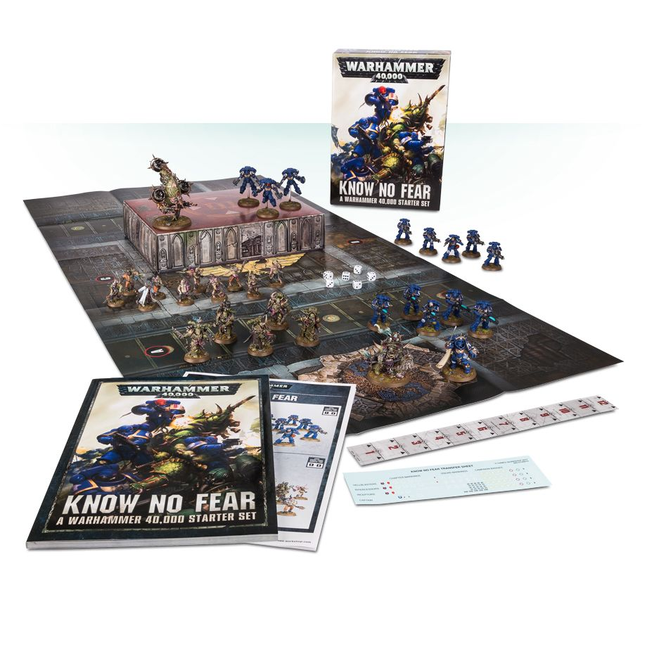 Home Games Workshop Webstore Know No Fear A Warhammer 40 000 Starter Set Games Workshop Webstore