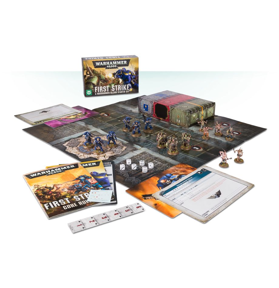 Home Games Workshop Webstore First Strike A Warhammer 40 000 Starter Set Games Workshop Webstore