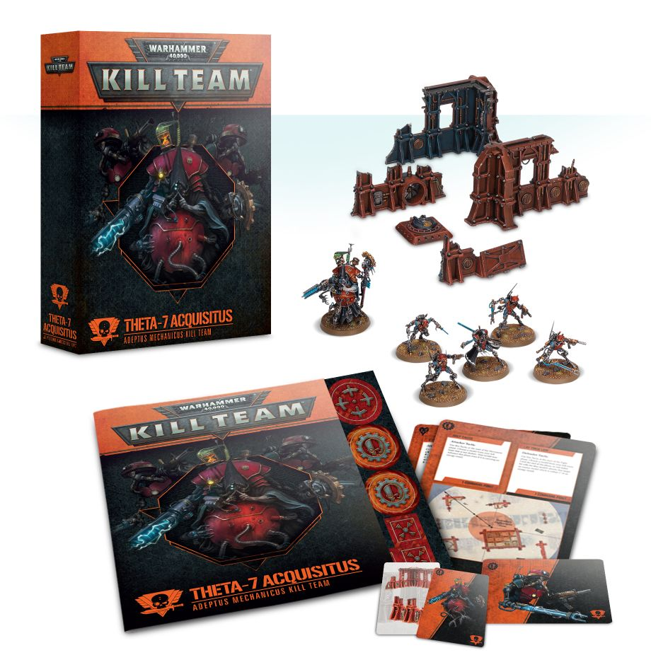 Home Games Workshop Webstore Theta 7 Acquisitus Adeptus Mechanicus Kill Team Games Workshop