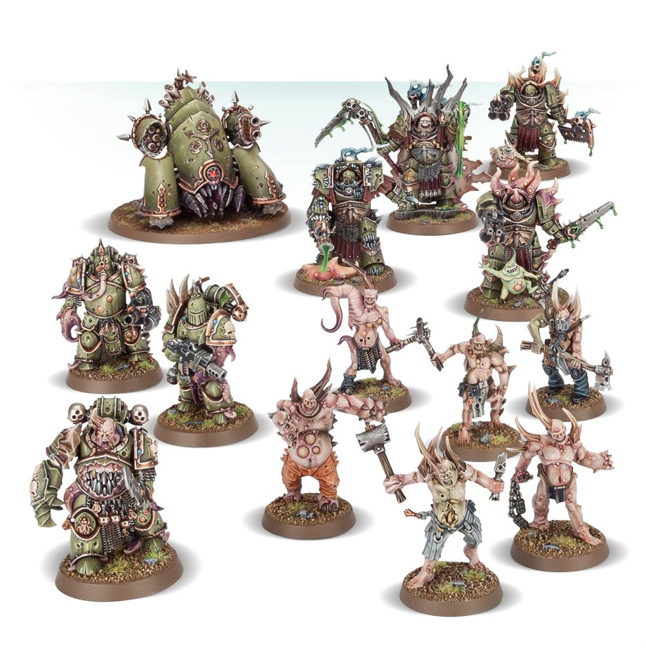 Home Games Workshop Webstore Easy To Build Death Guard Collection Games Workshop Webstore