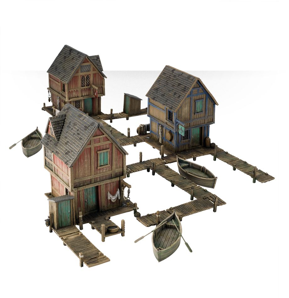 Home Games Workshop Webstore Lake Town House Multipack Games Workshop Webstore