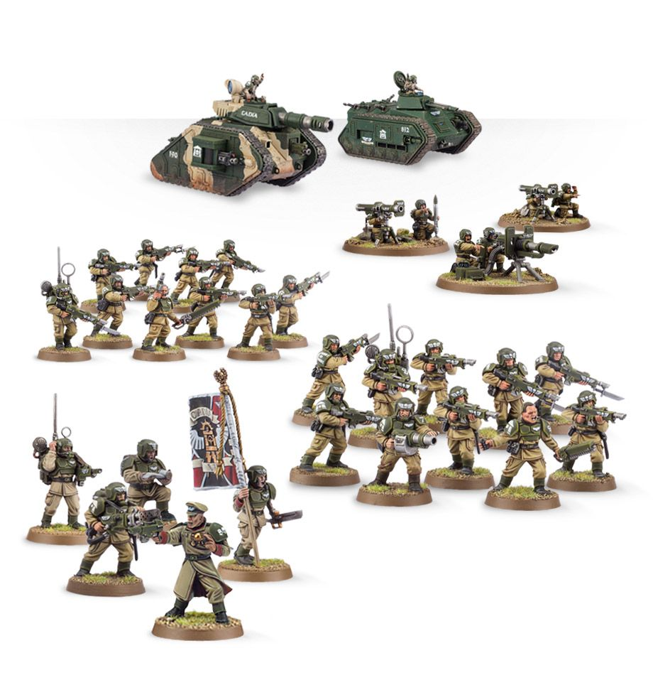 Home Games Workshop Webstore Cadian Defence Force Games Workshop Webstore
