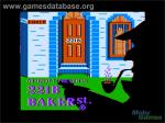 In Game Image Of B Baker St On The Apple II