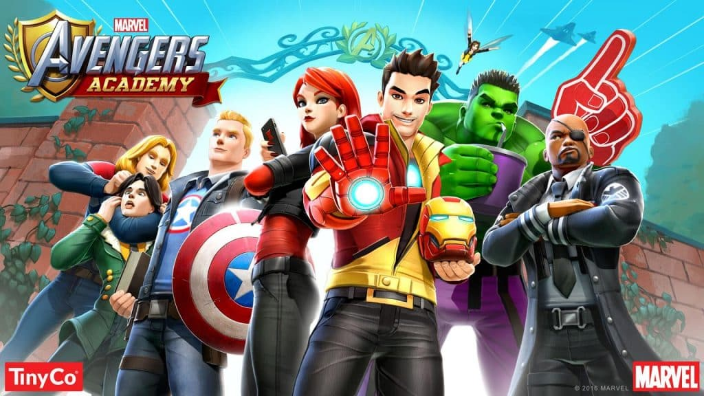 play avengers academy on computer