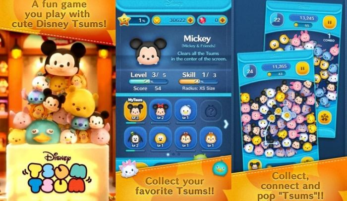 download LINE Disney Tsum Tsum free
