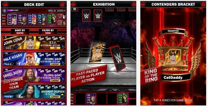 download WWE SuperCard free